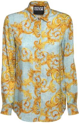 Versace Printed Twill Shirt
