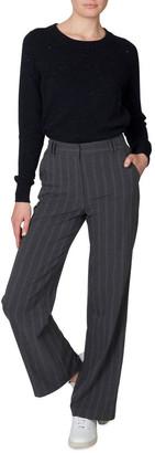 Skin and Threads Stripe Wideleg Trouser
