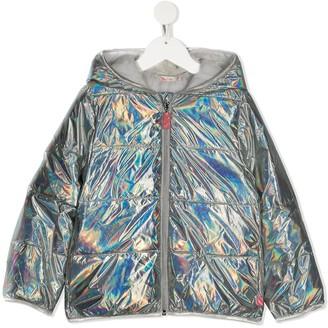 Billieblush Quilted Iridescent Coat