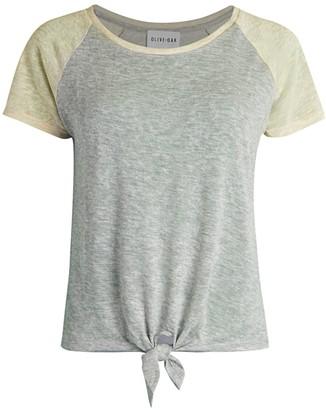 Olive + Oak Tie-Front T-Shirt