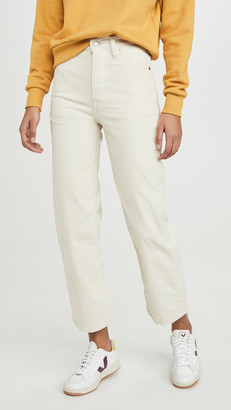 Levi's Straight Ankle Pants