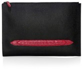 Salvatore Ferragamo Revival 3.0 Genuine Crocodile Leather-Trim Portfolio