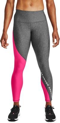 Under Armour Women's HeatGear High-Rise Ankle Crop Leggings
