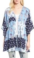 Hinge Women's Poppy Patchwork Kimono
