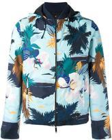 Valentino reversible tropical print jacket - men - Cotton/Polyamide/Polyester/Angora - 44