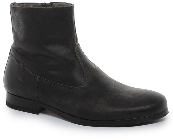 Rokin Ryder Leather Zip Boots