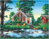 JCPenney Paint By Number Kit 20X16- Summer Cottage