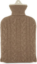 Johnstons Knitted cashmere hot water bottle