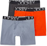 Jockey 3-pk. Active Stretch Midways