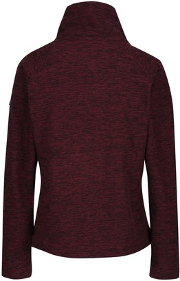 Regatta Zaylee Full Zip Fleece Jacket - Dark Burgundy