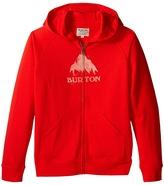 Burton Stamped Mountain Full Zip Hoodie (Big Kids)