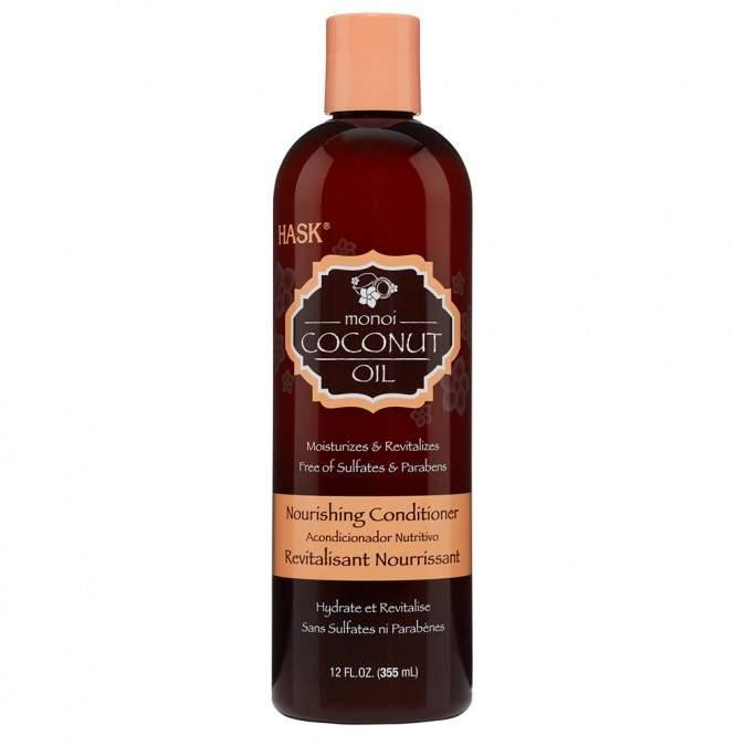 Hask Monoi Coconut Oil Nourishing Conditioner 355 mL