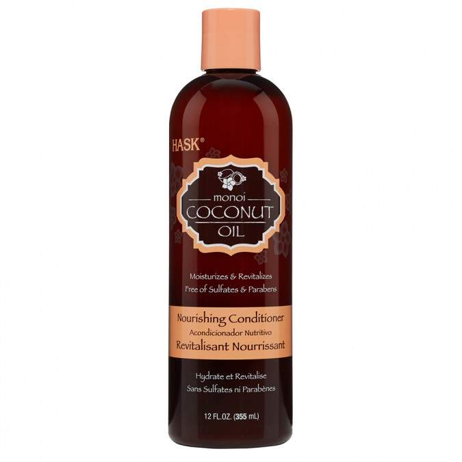 Hask Monoi Coconut Oil Nourishing Conditioner 355 mL