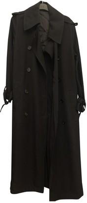 Acne Studios Black Trench Coat for Women