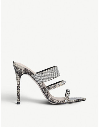 Kg Kurt Geiger Fable embellished sandals