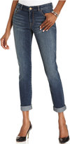 Style&Co. Style & Co Petite Boyfriend Jean Curvy Marseille Wash Skinny Jeans, Only at Macy's