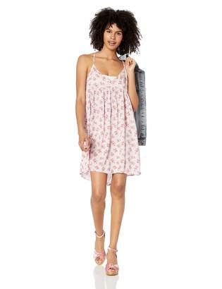 Volcom Junior's Women's Vol Dot Com Strappy Cami Babydoll Dress