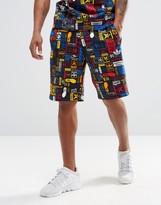 Adidas Originals Multicolour Logo Shorts Az1098