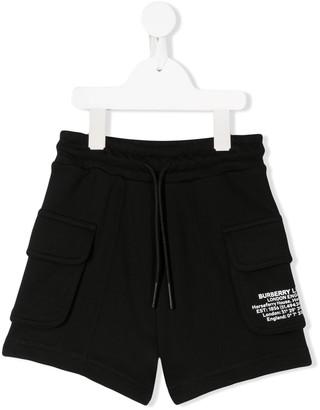BURBERRY KIDS Co-Ordinates Print Shorts
