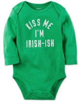 Carter's Kiss Me I'm Irish-Ish Bodysuit, Baby Boys & Girls (0-24 months)