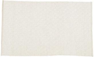 One Kings Lane Lanza Rug - White/Light Gray - 5'x8'