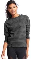 Gap Elements fleece spacedye sweatshirt