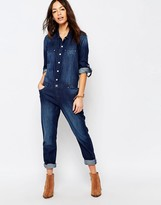Esprit All In One Denim Boiler Suit