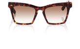 Ellery Tortoiseshell Cremaster Angular Unisex Sunglasses