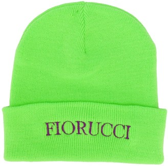 Fiorucci Embroidered Logo Beanie