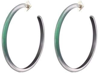 Alexis Bittar Large Skinny Hoop Earring