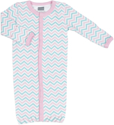 Kushies Aqua Convertible Gown - Infant