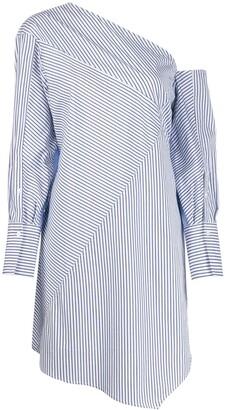 3.1 Phillip Lim striped patchwork tunic