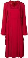Marni pleat detail dress