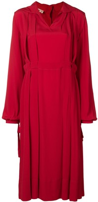 Marni Pleat Detail Dress