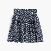 J.Crew Girls' tiered pull-on skirt in giraffe print