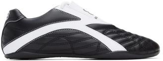 Balenciaga Black and White Zen Sneakers