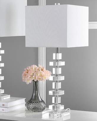 Safavieh Deco Crystal Blocks Table Lamps, Set of 2