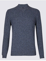 M&S Collection Wool Rich Textured Jumper