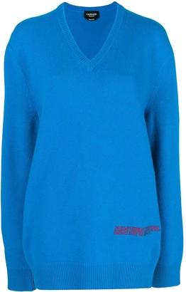 Calvin Klein Oversized Logo Sweater