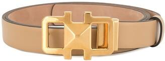 Salvatore Ferragamo Gold Buckle Belt