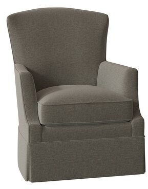 Fairfield Chair Lindsey Swivel Armchair Body Fabric: 3152 Putty, Motion Type: Swivel