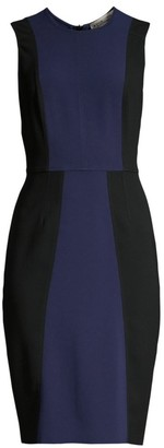 Diane von Furstenberg Calliope Colorblock Sheath Dress