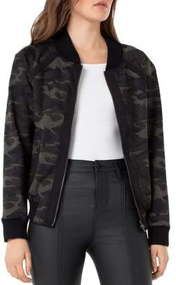 Liverpool Los Angeles Liverpool Camouflage Bomber Jacket