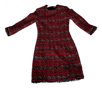 Maje Red Wool Dresses