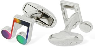 Paul Smith Music Notes Metal Cufflinks