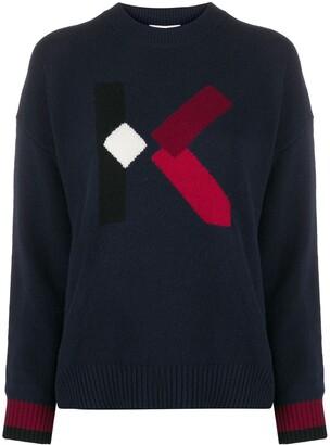 Kenzo K logo jumper