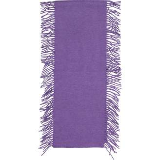 Eric Bompard Purple Cashmere Scarves