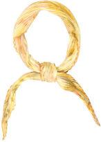 Hermes Brides De Gala Silk Plissé Scarf