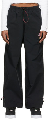 Nike Black Icon Clash Sportswear Track Pants
