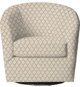 Custom Colin Upholstered Swivel Chair